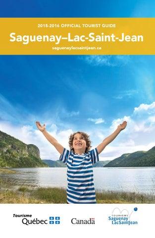 Saguenay-Lac-Saint-Jean Official Tourist Guide by Tourisme Saguenay ...