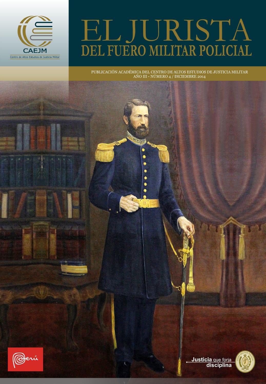 El Jurista del Fuero Militar Policial IV by BIBLIOTECA FMP - issuu