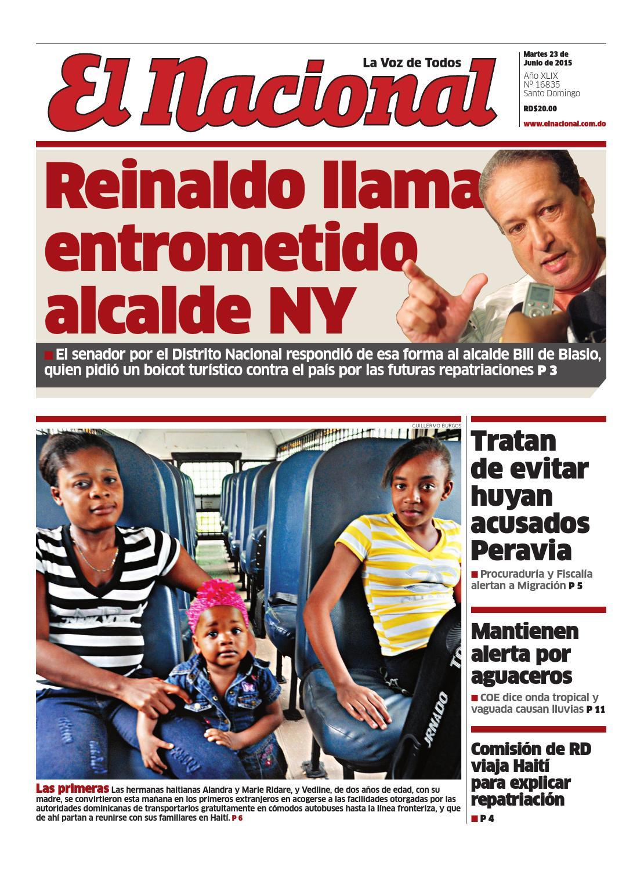 Impreso23 06 15 by Periodico El Nacional - issuu 86af6957ebdf9
