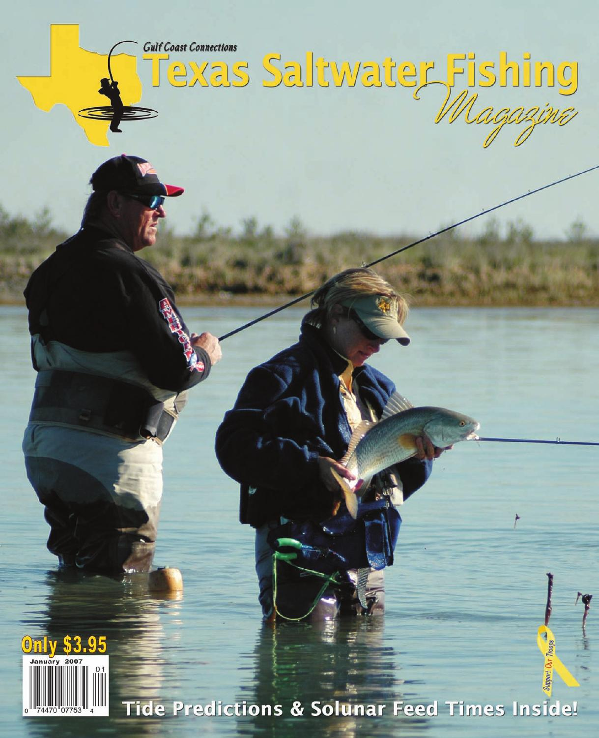 January 2007 by texas salwater fishing magazine issuu for Texas saltwater fishing magazine