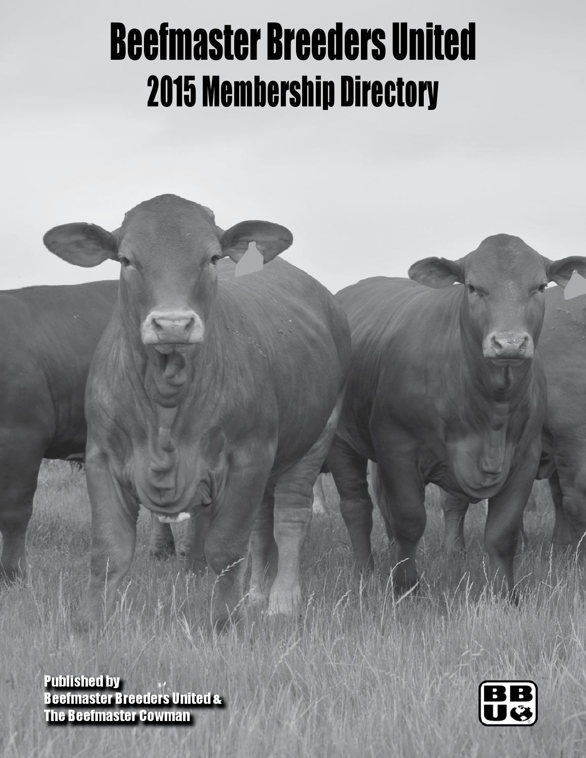2015 Membership Directory By Beefmaster Breeders United Issuu En Ji Palomino Sherly Handbag Black