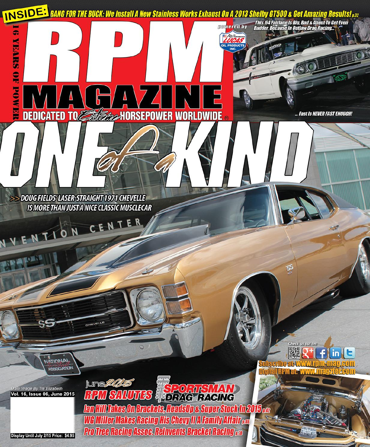 Rpm Magazine June 2015 By Issuu Standardr Chevy Cavalier 1984 Engine Cooling Fan Switch Connector