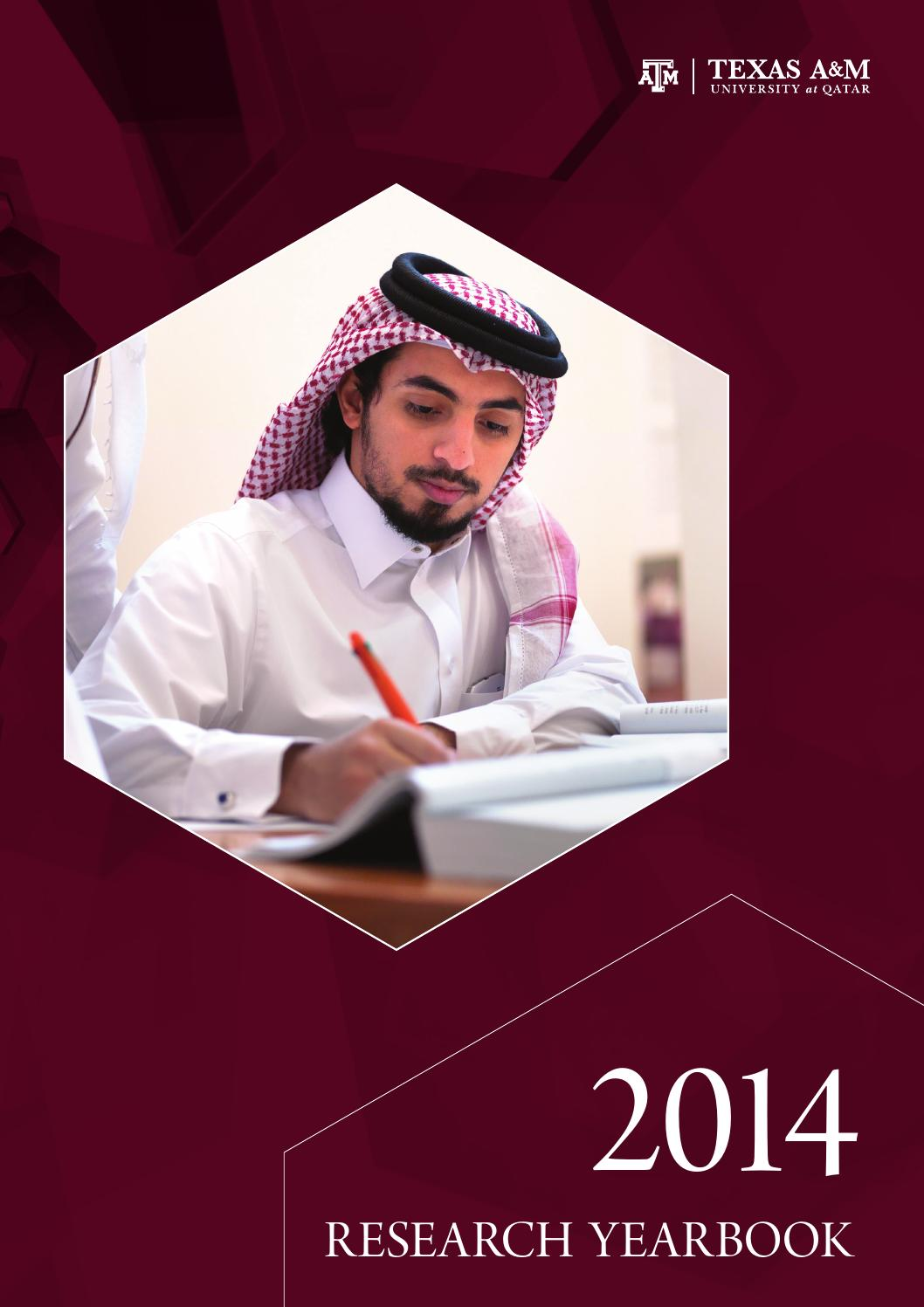 Annual Research Yearbook 2014 By Texas Am At Qatar Issuu Mk Wiring Devices