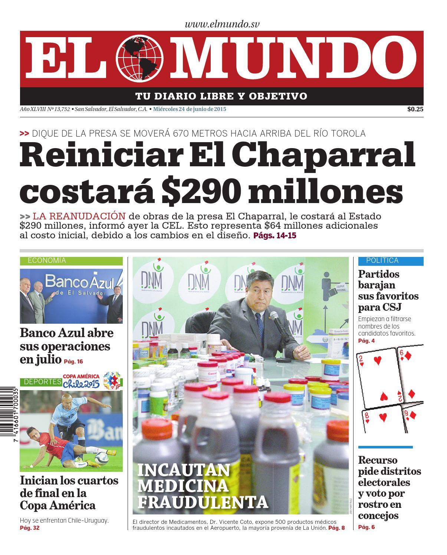 Mundo240615 by Diario El Mundo - issuu