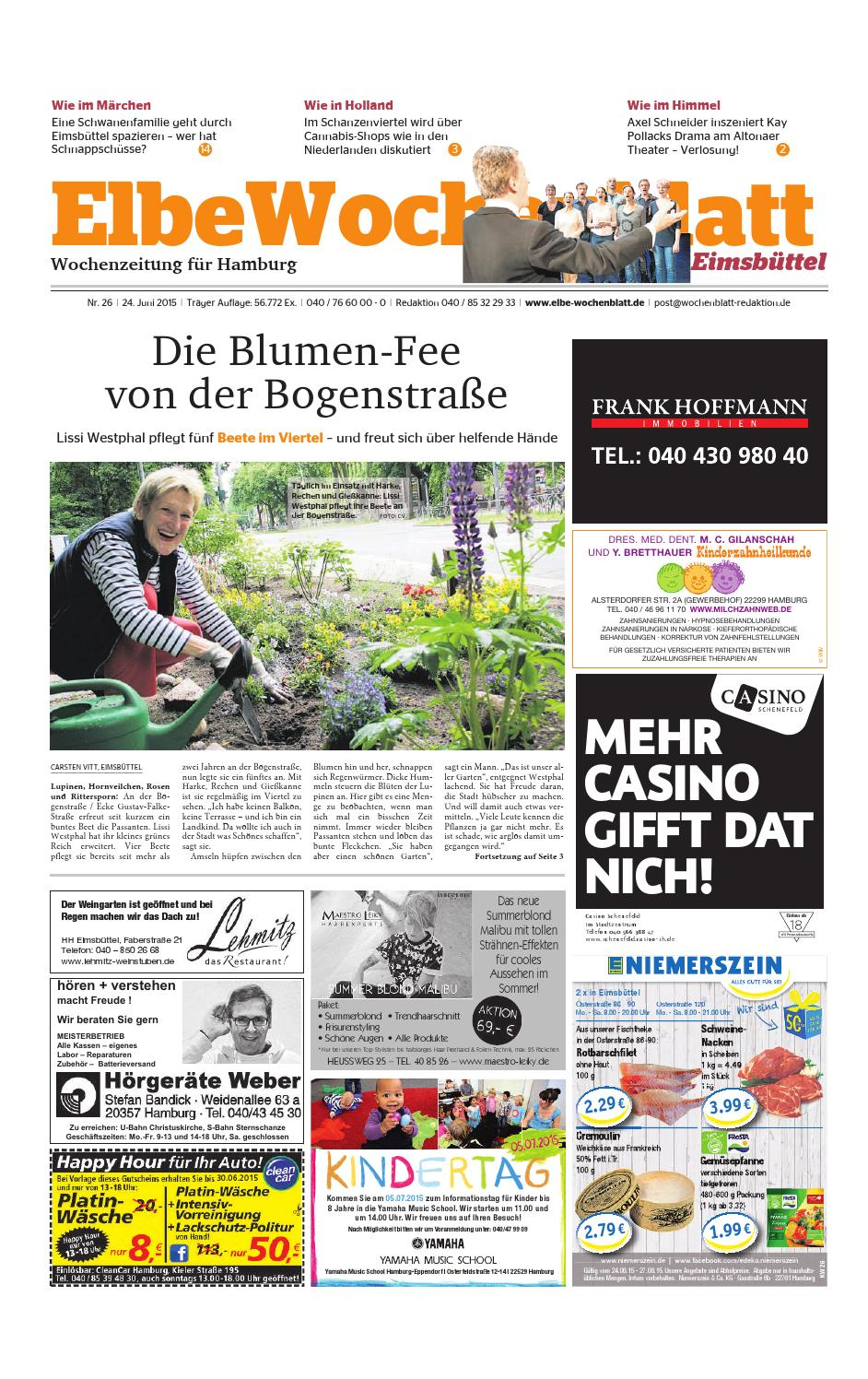 Eimsbüttel KW26-15 by Elbe Wochenblatt Verlagsgesellschaft mbH & Co.KG -  issuu