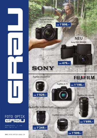 cdc30617c4139 Version grau by Foto-Optik Grau AG - issuu