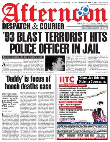 24 June 2015 By Afternoon Despatch Courier Issuu