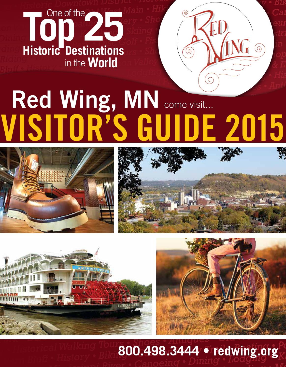 Red wing mn visitors guide 2015 by big fish works issuu sciox Images