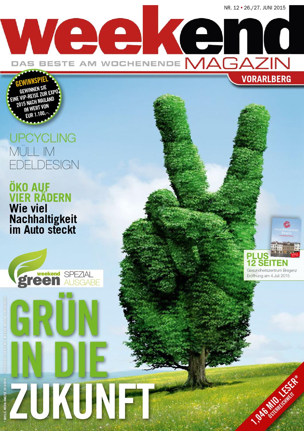 Weekend Magazin Vorarlberg 2015 KW 26 by Weekend Magazin Vorarlberg ...