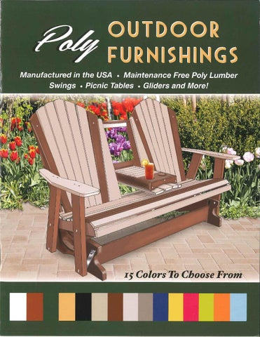 2015 Leviu0027s Lawn Furniture / Poly Lumber Outdoor Furniture/ Eu0026G ...