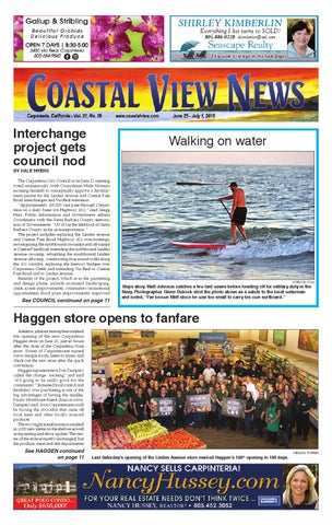 Cvn 062515 By Coastal View News Issuu