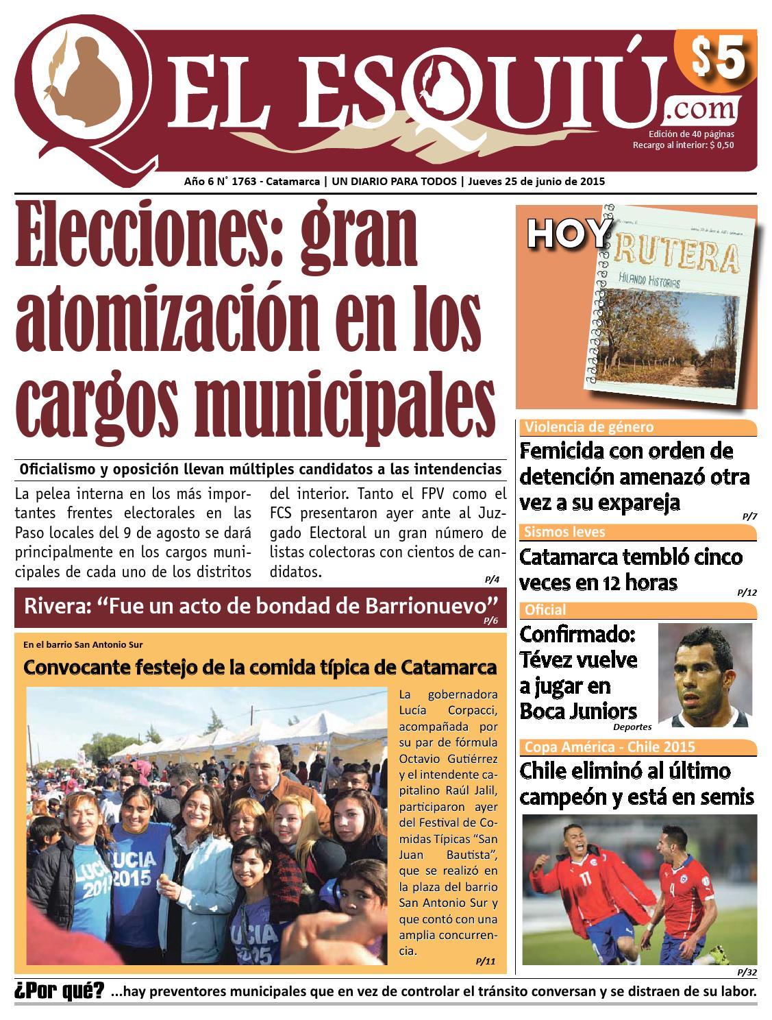 El Esqui Com Jueves 25 De Junio De 2015 By Editorial El Esqui  # Muebles Yoma Antofagasta
