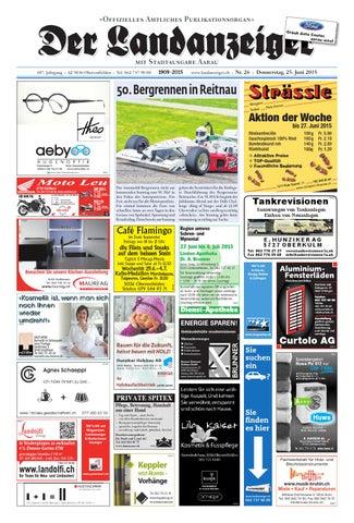 Der Landanzeiger 26 15 By Zt Medien Ag Issuu