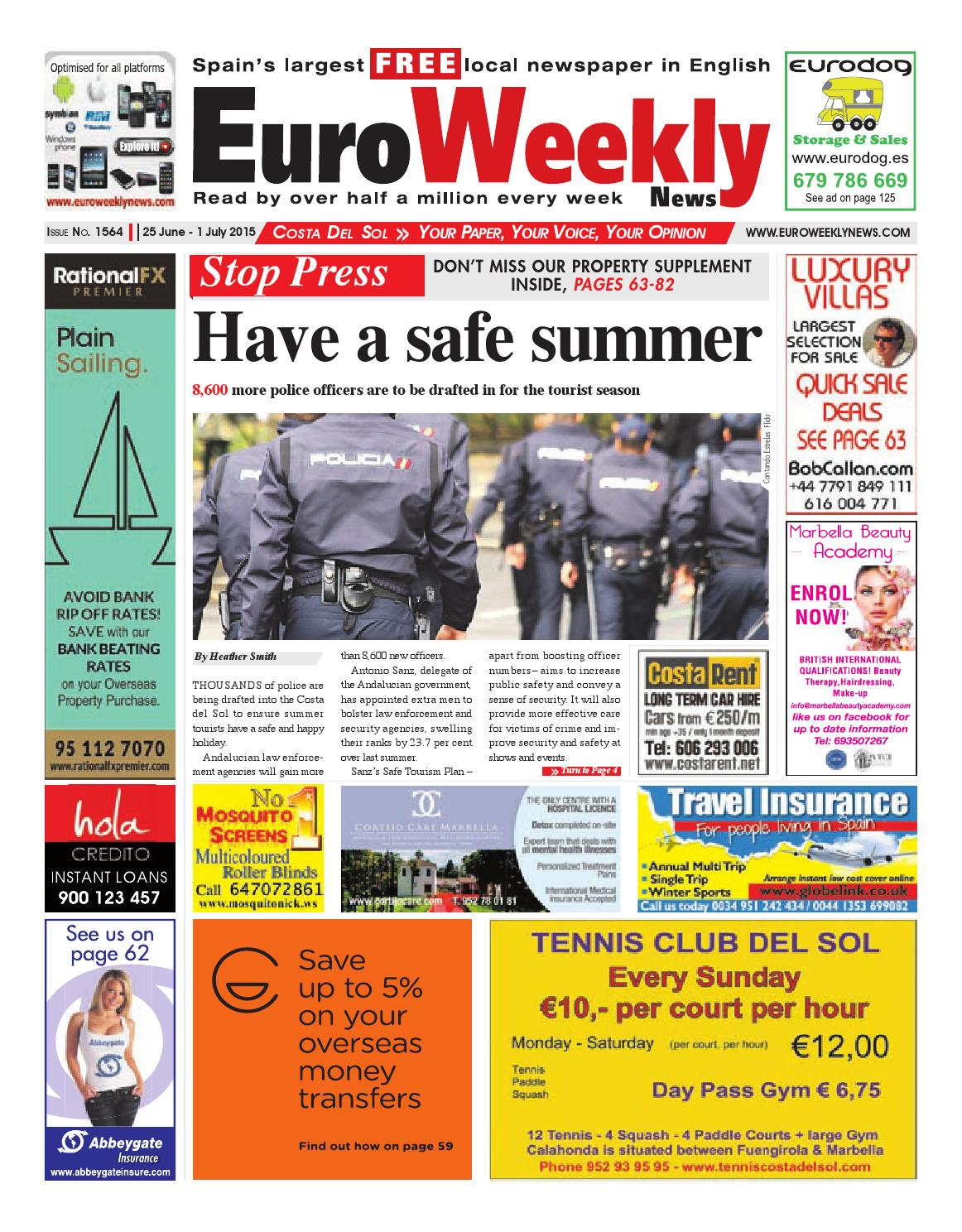 Euro Weekly News Costa Del Sol 25 June 1 July 2015 Issue 1564 By Having To Rewire An Entire Circuit Faulty Breaker Caused Flickr Media Sa Issuu