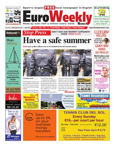 Euro Weekly News Costa del Sol 25 June 1 July 2015 Issue