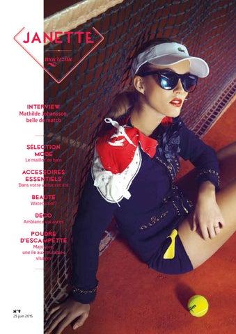 19939c3052c9f7 Interview Mathilde Johansson, belle de match  Sélection mode. Le maillot  de bain. Accessoires essentiels