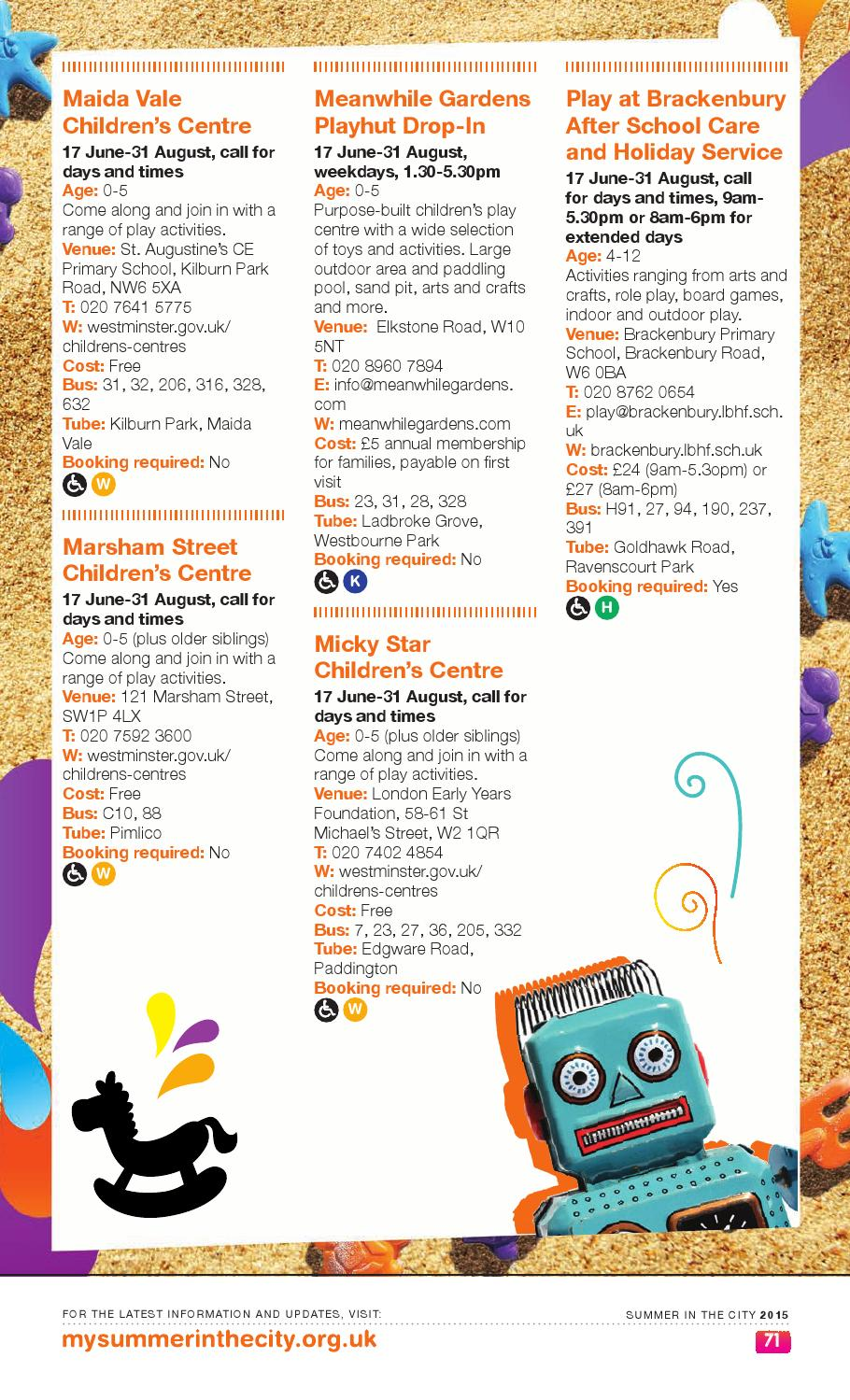 Summer In The City 2015 By Hammersmith Fulham Council Issuu