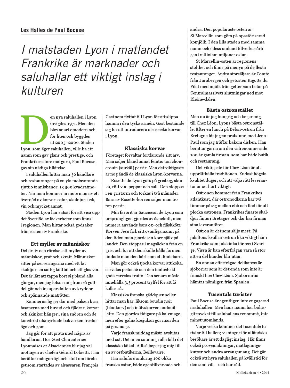 Mollekuriren 2014 Nummer 4 By Molle By Och Kulturforening Issuu