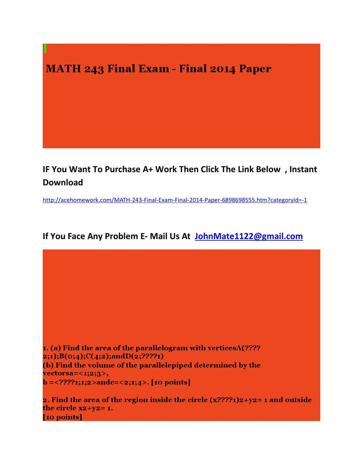 final paper ba 2014 Nmtc final paper 2014 std9 10  documents similar to nmtc final paper 2014 std5 6 nmtc final stage sub junior 2014 uploaded by yatishgoyal primary - year 2015.