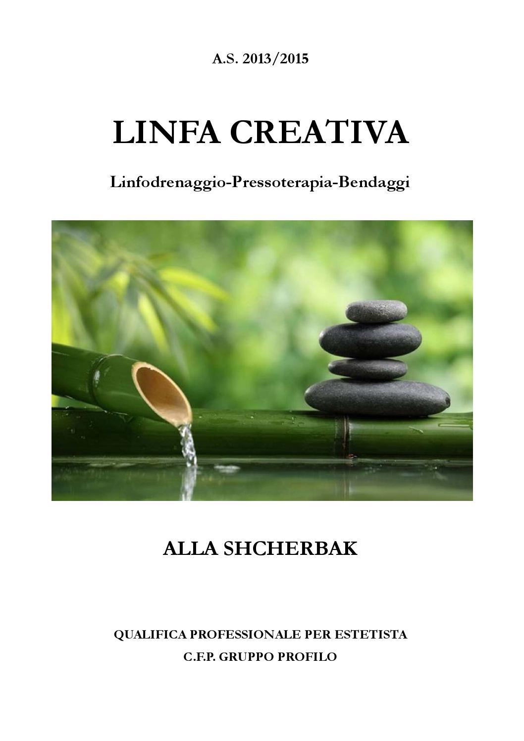 Tesina La Linfa Creativa Alla Shcherbak By Sara Profilo Issuu