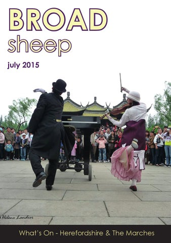 6ac5eff681bf Broad Sheep July 2015. Whats on magazine for Herefordshire ...