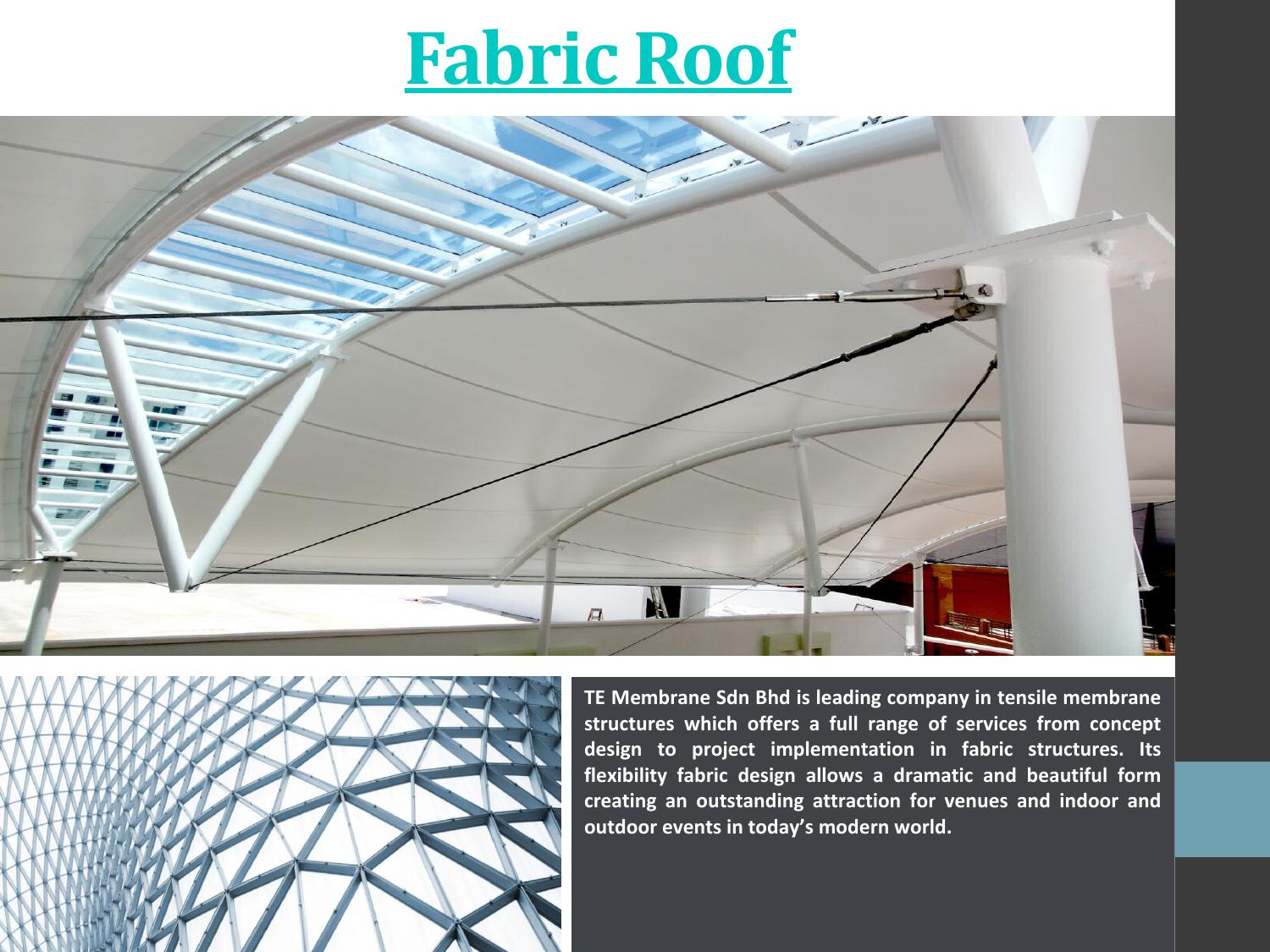 Fabric Roof By Fabric Roof Issuu
