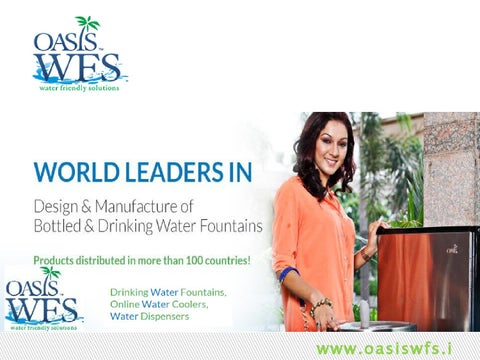 Best drinking water dispensers in india by oasis wfs by