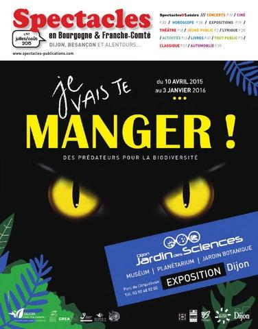 Spectacles Publications Dijon n°147   Juillet Août 2015 by ... 9828314b7fc5