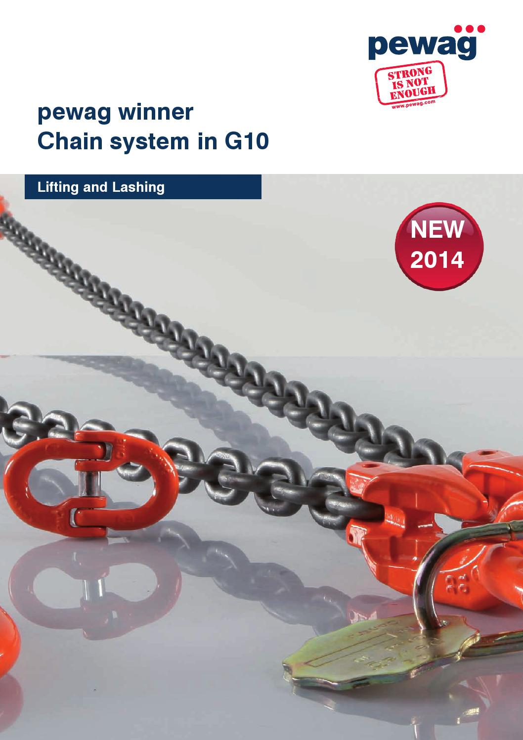 10mm G8 Loadbinder Lashing Securing Chain 8 metres with Grab Hook