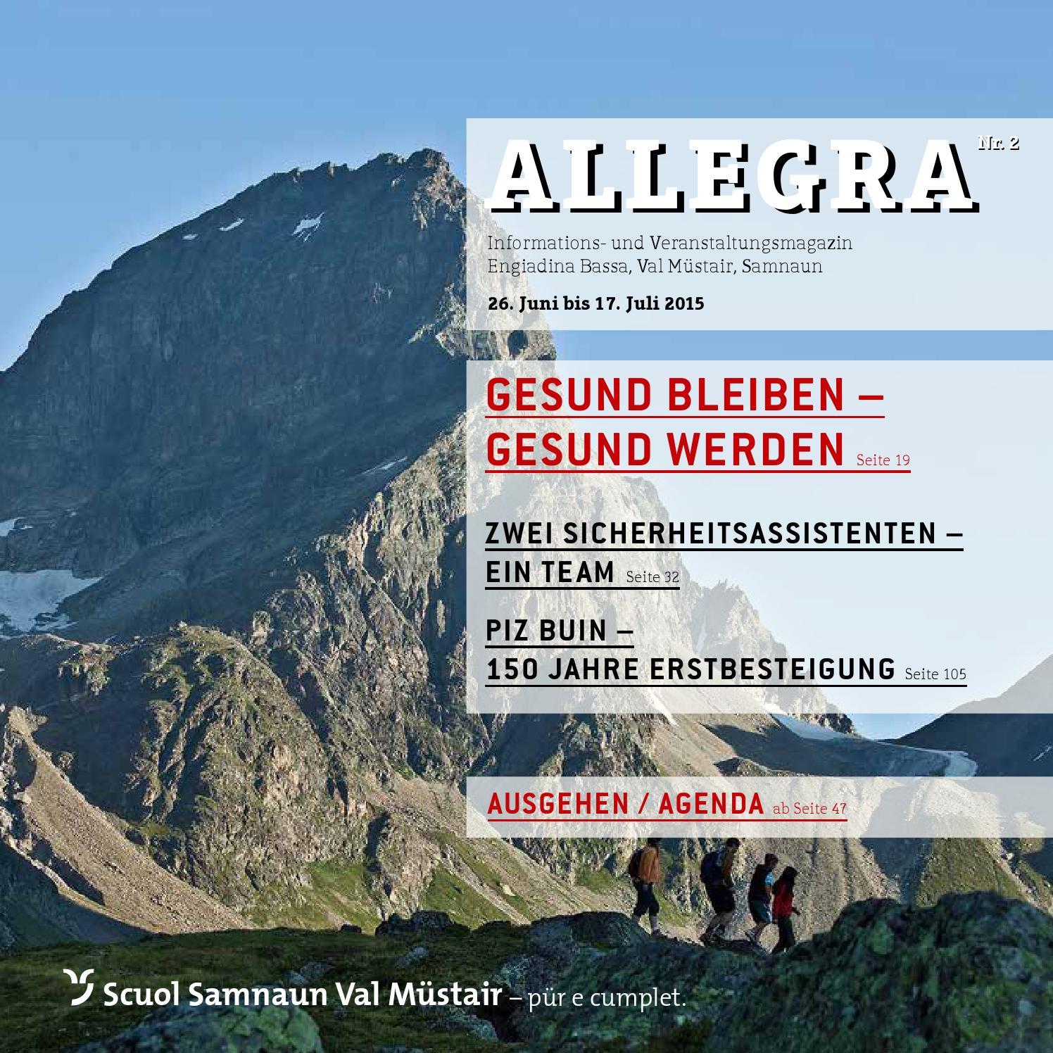 Allegra - Nr. 10/2019 by Tourismus Engadin Scuol Samnaun
