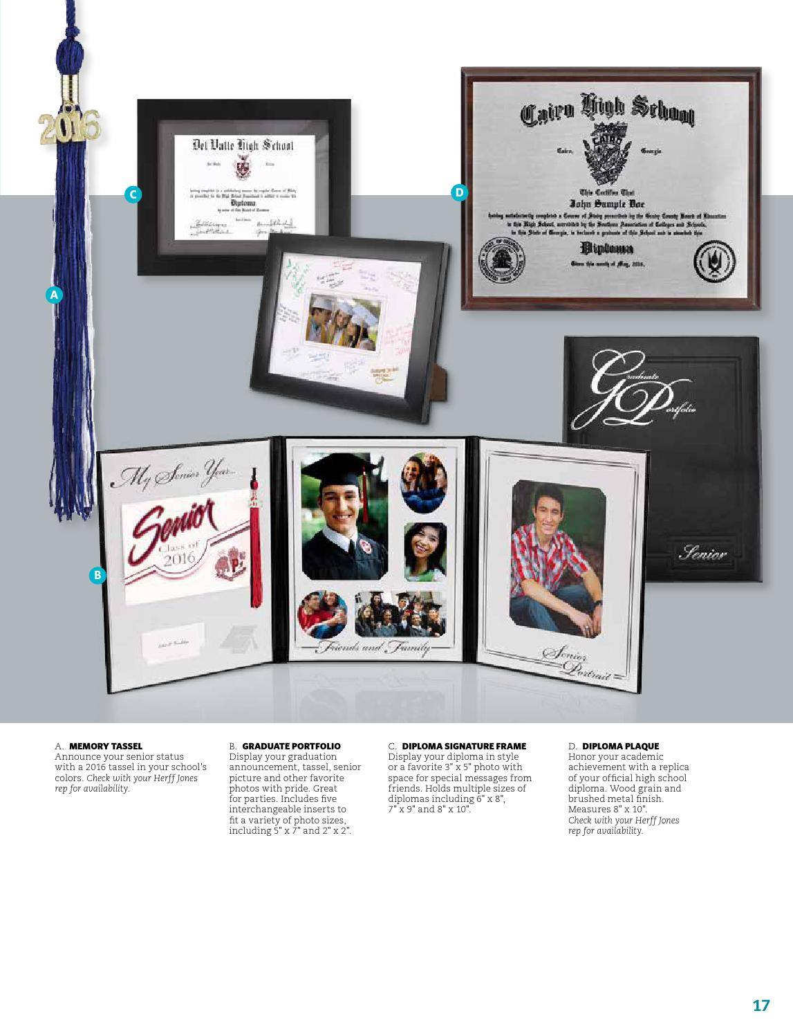 Herff Jones Graduation 2016 Catalog by Herff Jones - issuu