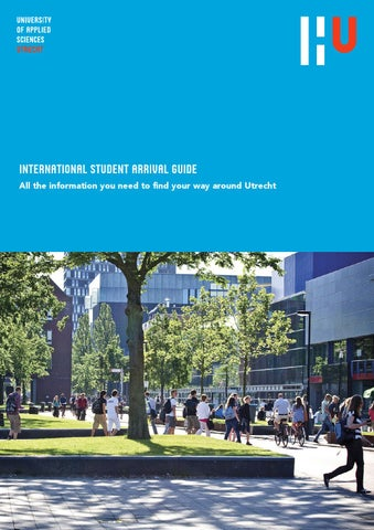 International student arrival guide by hogeschool utrecht - Utrecht university international office ...