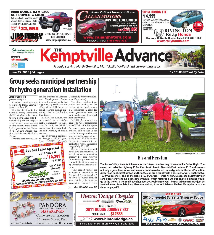 Kemptville062515 by Metroland East - Kemptville Advance - issuu