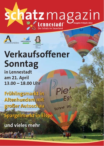 82e779d4b99ae4 Schatzmagazin 2013 April by Stadtmarketing Lennestadt - issuu