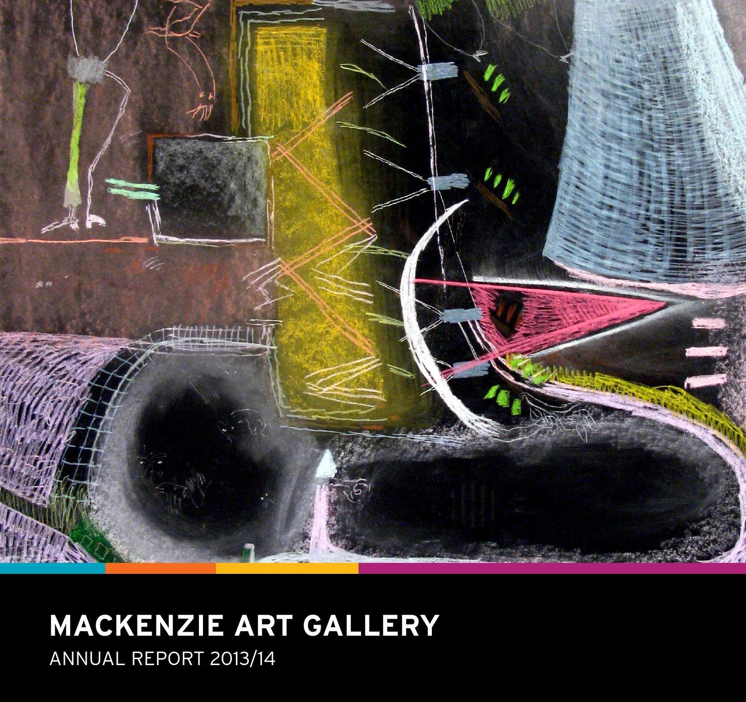 MacKenzie Art Gallery Annual Report 2013/14 by MacKenzie Art