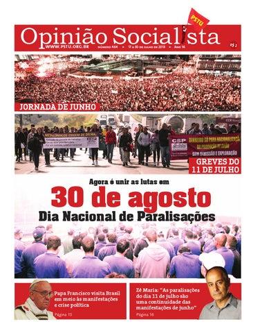 311e2a79d Opinião Socialista Nº464 by PSTU Nacional - issuu