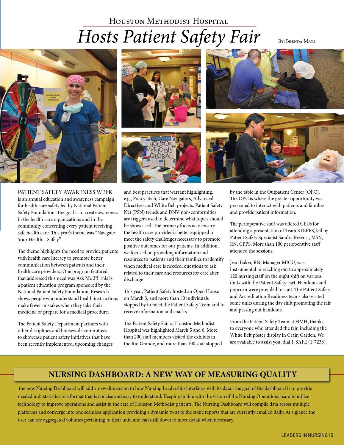 Houston Methodist Nurse March 2014 by Houston Methodist