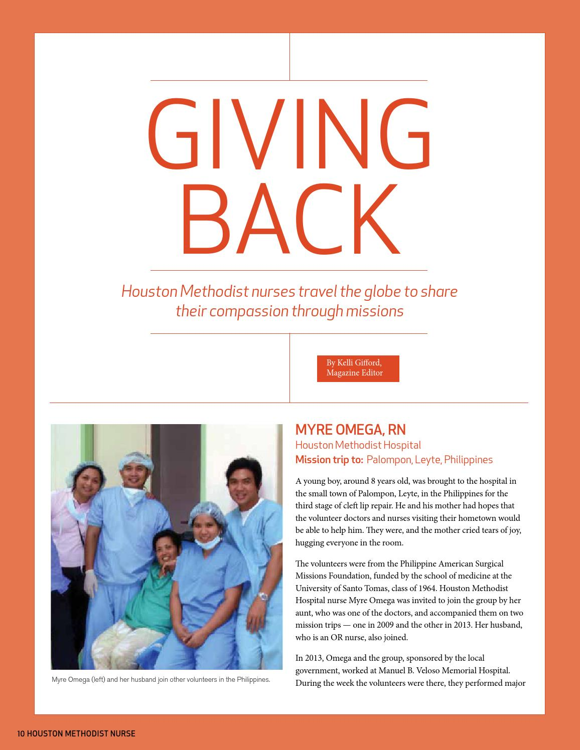 Houston Methodist Nurse Winter 2015 by Houston Methodist