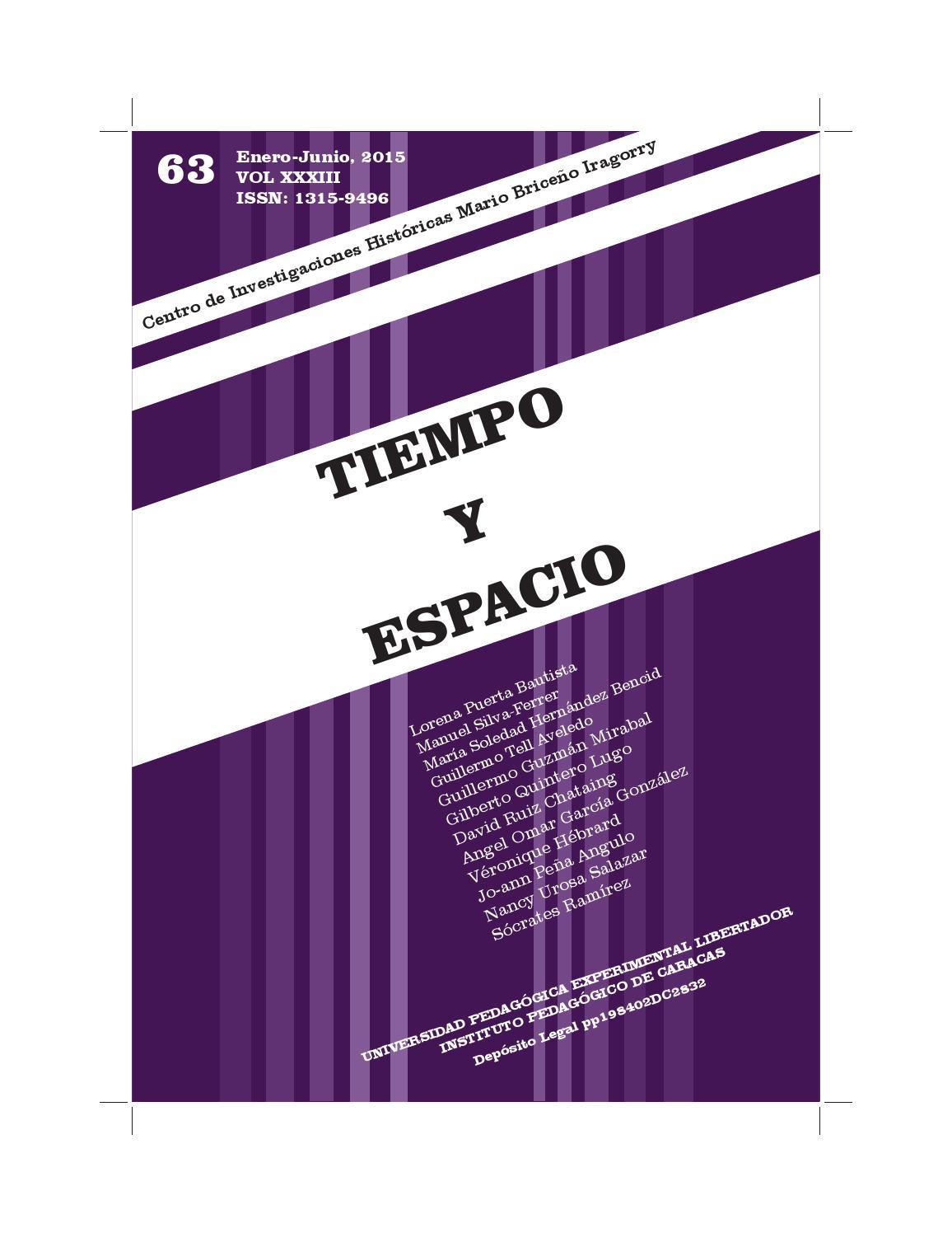 Tiempo y espacio 63 digital (1) (1) by Luis Peñalver - issuu