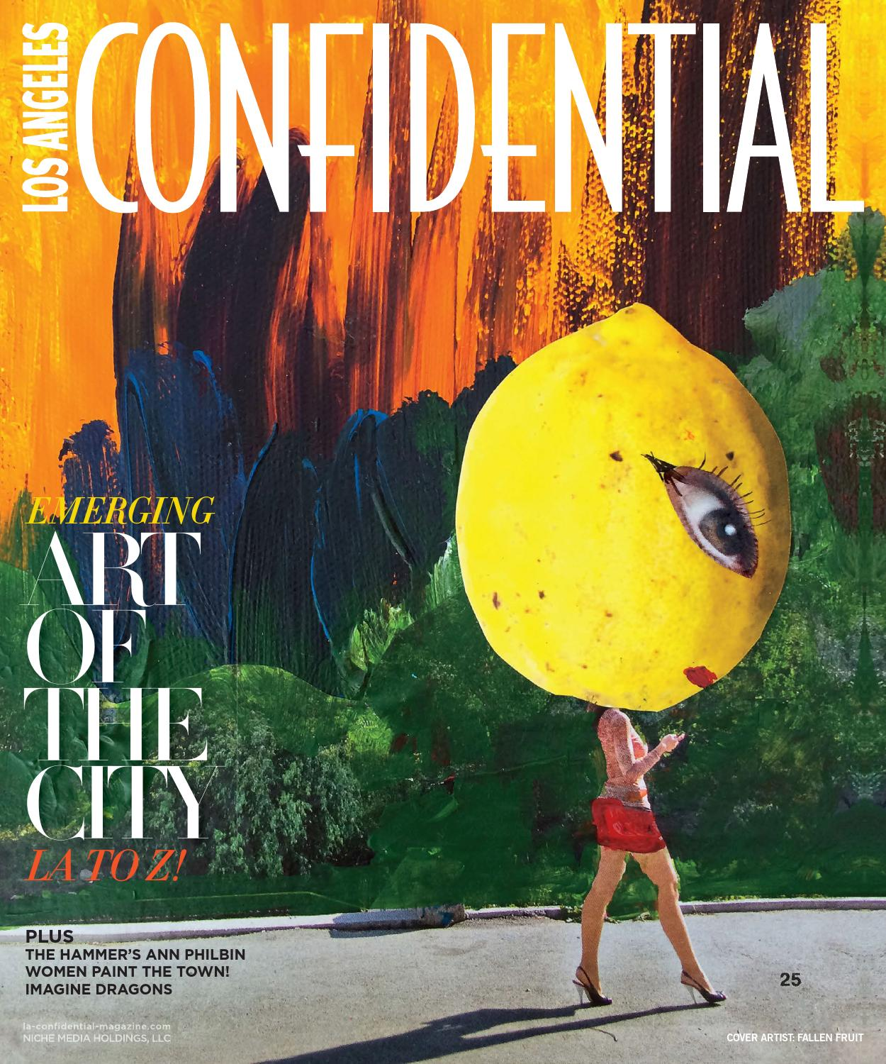 Los Angeles Confidential 2015 Issue 4 Summer Art of