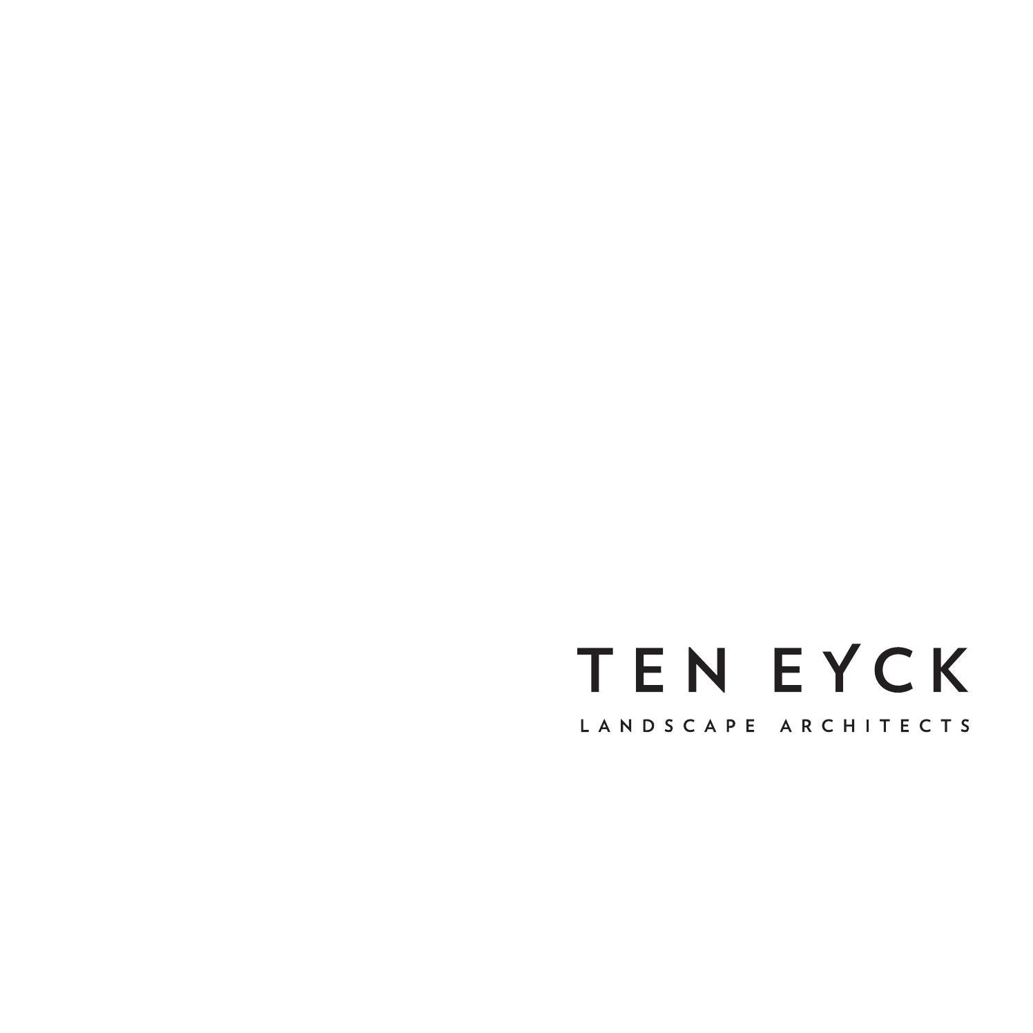Ten eyck landscape architects inc june 2015 by ten eyck for Ten eyck landscape architects