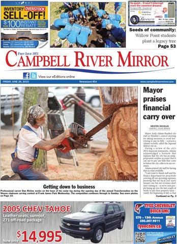 Campbell River senior dating Ik krijg nooit berichten op dating sites