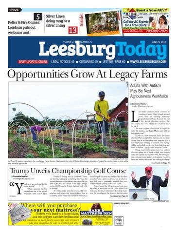 Leesburg today june 25 2015 by insidenova issuu page 1 fandeluxe Gallery