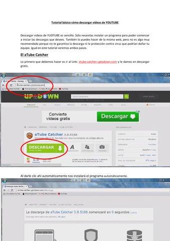 Tutorial básico cómo descargar videos de youtube by JGFA - issuu