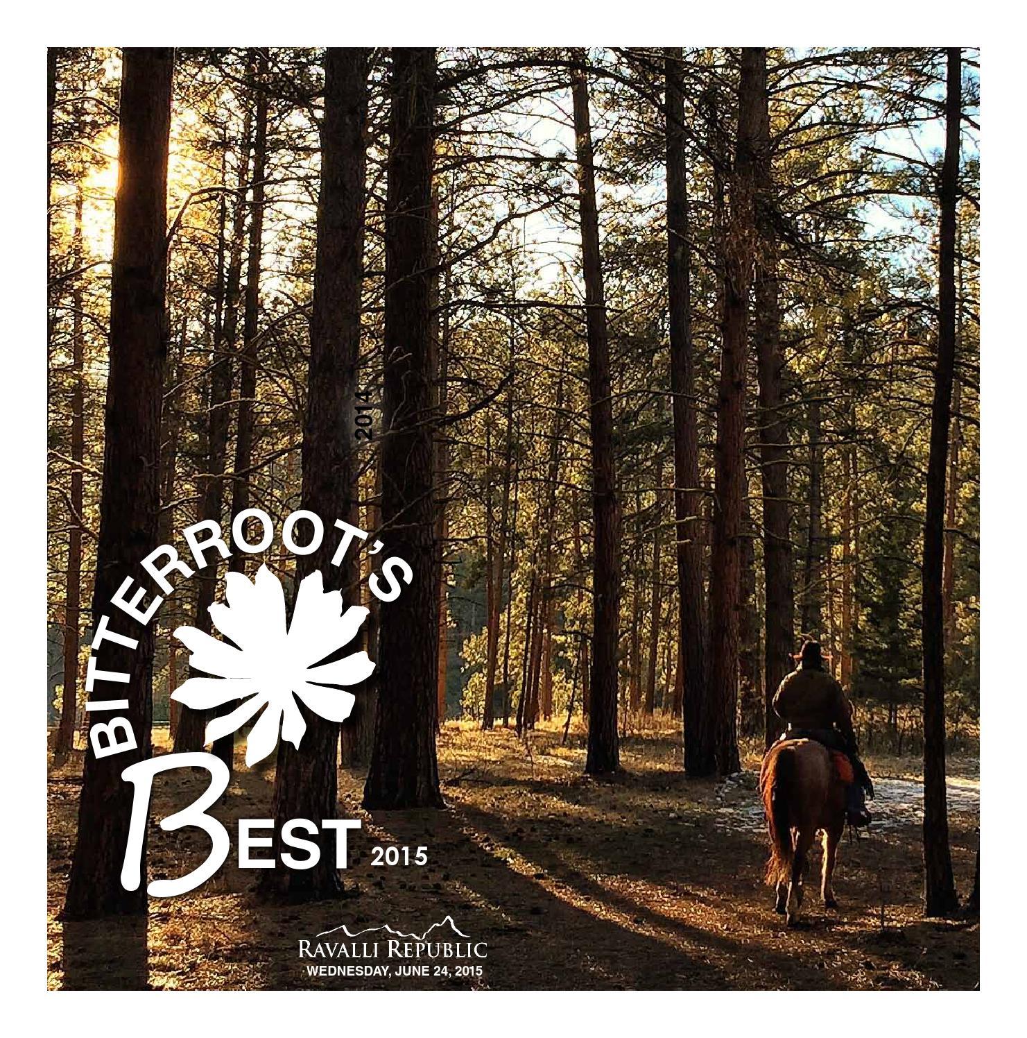 Bitterrootu0027s Best 2015 By Ravalli Republic   Issuu