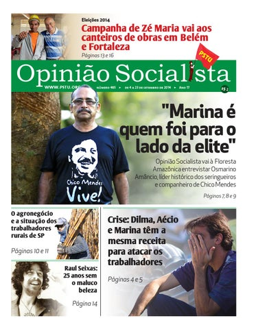 4c02d874c Opinião Socialista Nº485 by PSTU Nacional - issuu