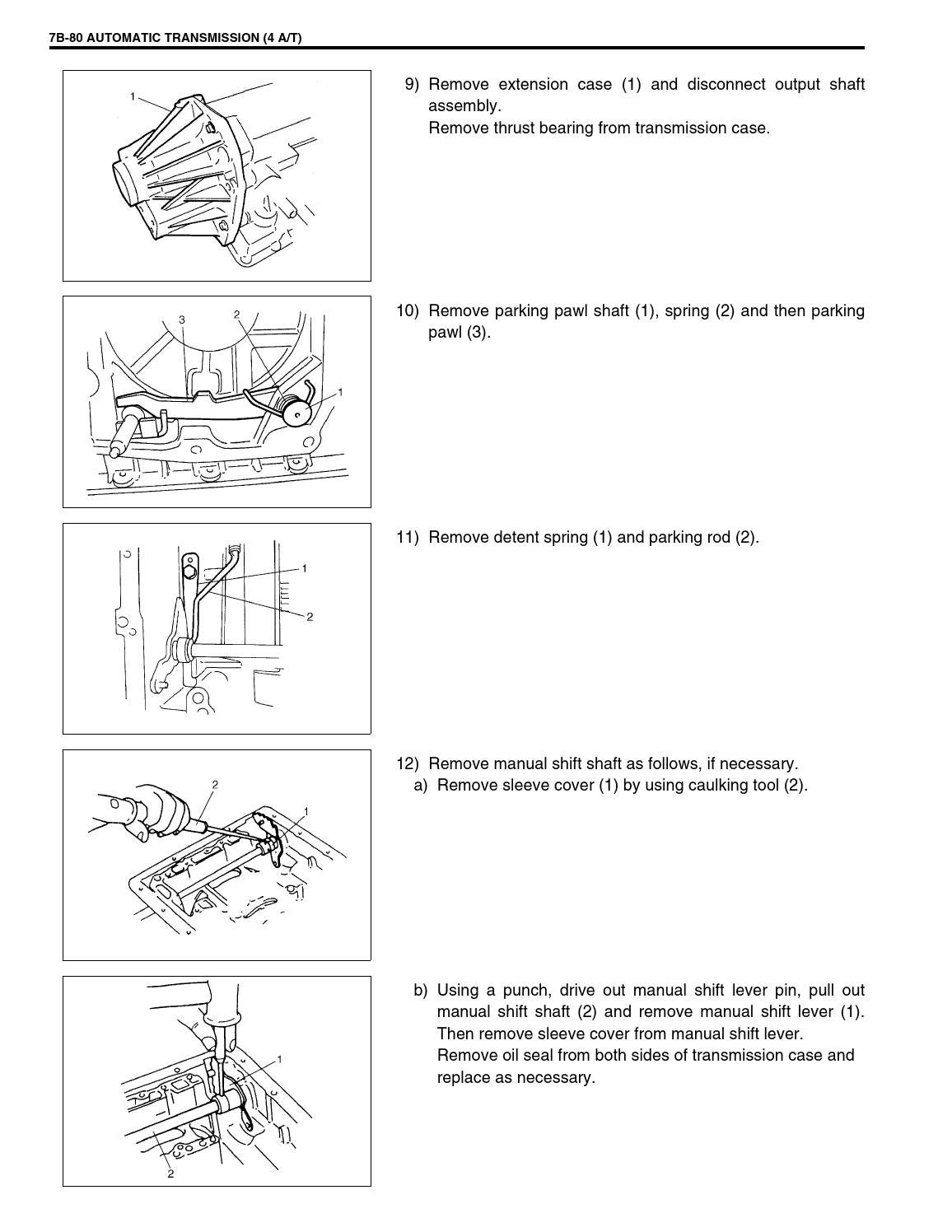 Jimny part2 3 servicemanual 99500 81a10 01e sn413 by VALDIR SOARES