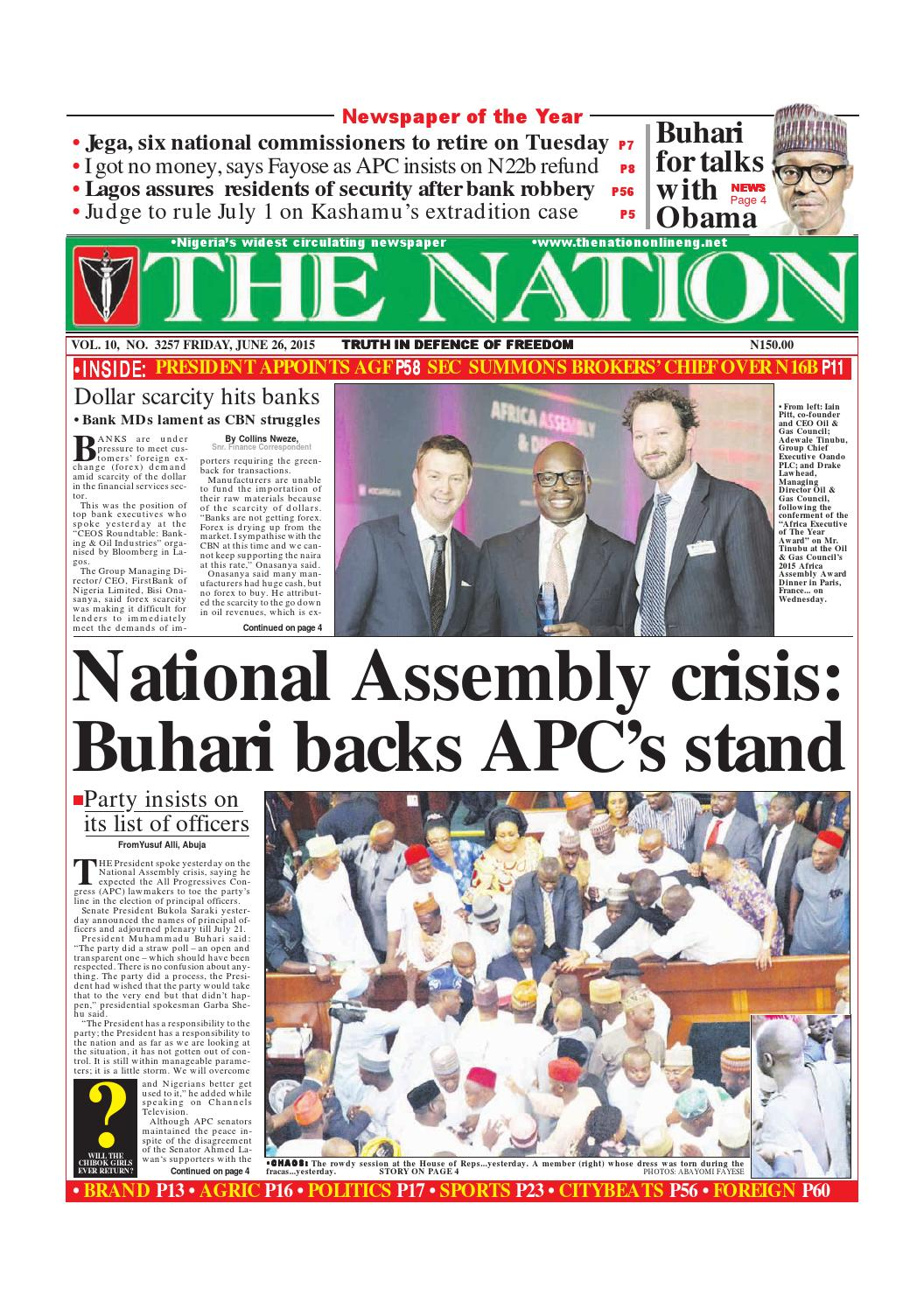 June 26, 2015 by The Nation - issuu