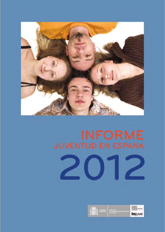 Informe de la Juventud en España 2012 by Instituto de la Juventud de ...
