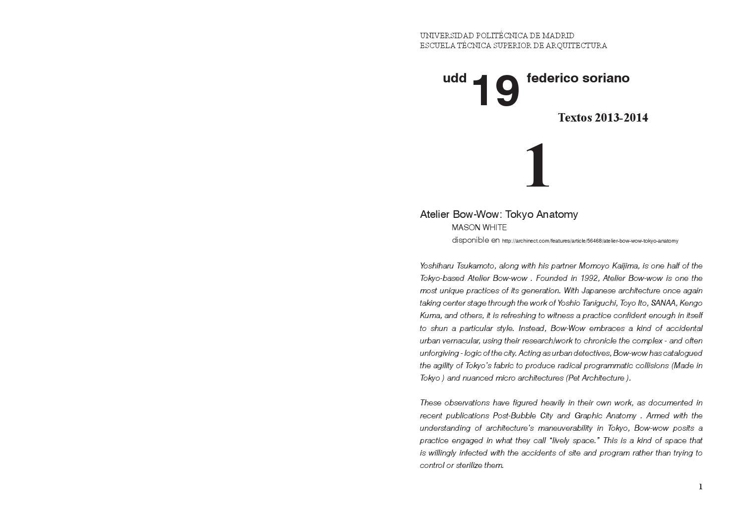 Textos13 14 By Uddfederico Soriano Issuu